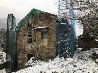 Rehabilitación de una vivienda en la provincia de Lugo.
