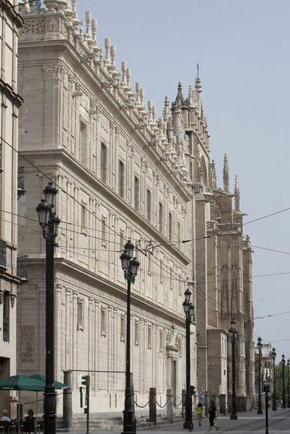 La fachada restaurada.