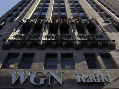 El rascacielos del grupo Tribune en Chicago