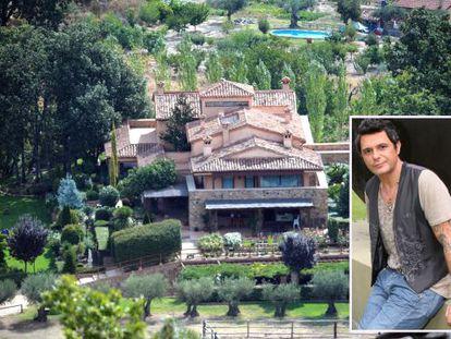 Alejandro Sanz adquirió hace más de cuatro años esta finca en Jarandilla de la Vera (Cáceres)