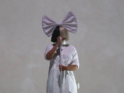 Sia, en un concierto en Auckland, en diciembre de 2017.