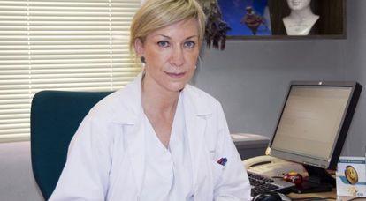 Sonia López Arribas, especialista en psiquiatría y médico de vuelo.
