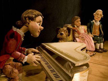 'Do, re, mi, Mozart juega aquí', de Títeres Cachirulo.