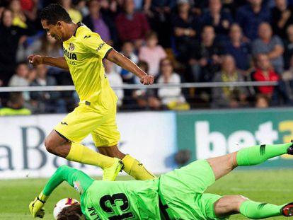 Oblak evita el gol de Bacca en un mano a mano con empate a uno en el marcador / En vídeo, declaraciones de Simeone (ATLAS)