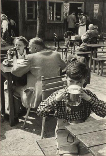 Wienerwald, Austria, 1954.