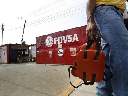 Instalaciones de la industria petrolera PDVSA en la ciudad de Maracaibo, Venezuela el 27 de diciembre de 2019.