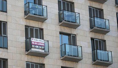 Vivienda en alquiler en Barcelona.