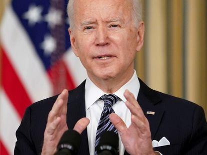 El presidente Joe Biden en la Casa Blanca, en Washington.