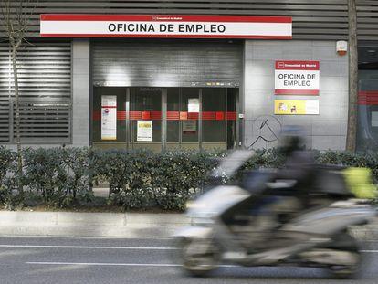 Una oficina de empleo, en la comunidad de Madrid.