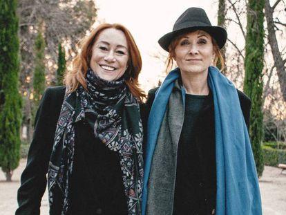 Gracia Querejeta & Nathalie Poza contra la invisibilización de las mujeres