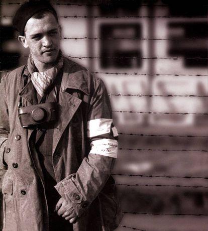 Francesc Boix, en el campo de concentración.