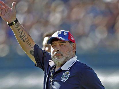 Diego Armando Maradona, en Buenos Aires, el pasado 2 de noviembre.