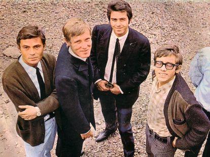 Los Bravos en una imagen de los años sesenta. Michael Volker, luego Mike Kennedy, es el segundo por la izquierda.