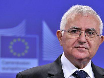 El excomisario europeo John Dalli.