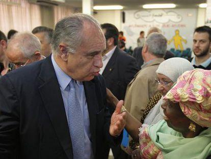 Rafael Blasco en un acto de Fundar, una de las fundaciones investigadas, en 2011.