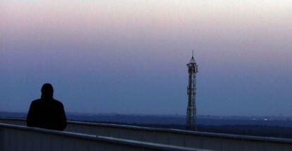 Contaminación atmosférica a la altura de Las Matas en la A-6 (Madrid).