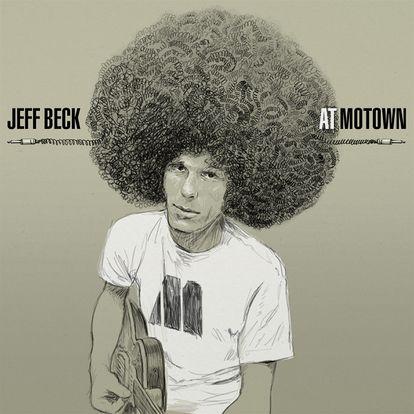 Versión imaginada del disco de Jeff Beck para Motown por el diseñador Javier Aramburu.