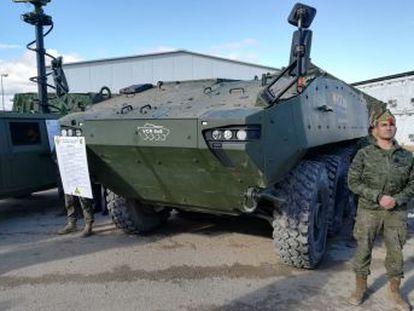 Defensa adjudica el contrato del Dragón 8x8 a la empresa Santa Bárbara Sistemas