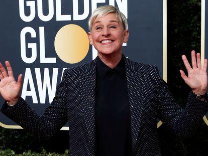 Ellen DeGeneres, a su llegada a la gala de entrega de los Globos de Oro el pasado 5 de enero en Los Ángeles.