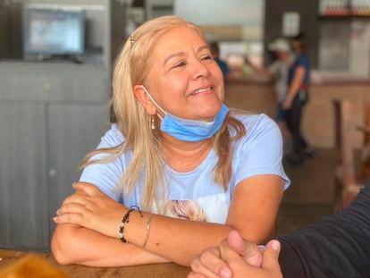 La colombiana Martha Sepúlveda, la semana pasada.