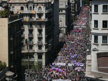 Las manifestaciones del Primero de Mayo se celebran en toda España marcadas por las elecciones del 28-A