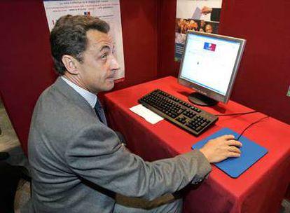 Nicolas Sarkozy, en 2006.