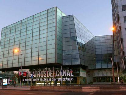Fachada de los Teatros del Canal, en 2019.