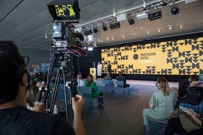 Presentación de València Capital Mundial del Diseño 2020 en el edificio Veles e Vents.