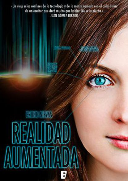 Portada de la novela 'Realidad aumentada', de Bruno Nievas.