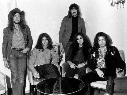 Deep Purple en 1972, cuando se editó 'Highway star'. De izquierda a derecha: Roger Glover, Ian Gillan, Jon Lord, Ian Paice y Ritchie Blackmore.