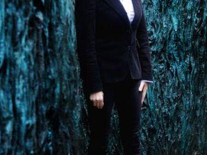 La escultora Cristina Iglesias.