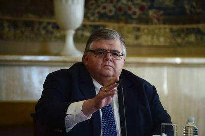 Agustín Carstens, gobernador del Banco de México.