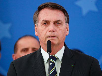 El pressidente de Brasil, Jair Bolsonaro.