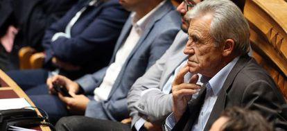 El líder comunista portugués Jerónimo de Sousa, en el parlamento el pasado 23 de octubre.