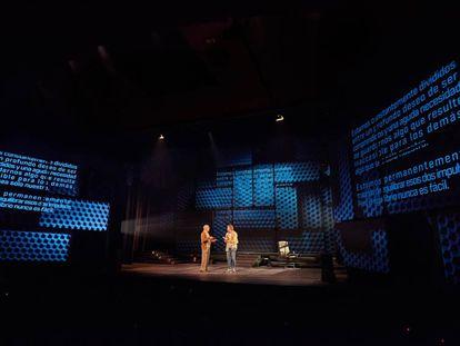 Una escena de la obra 'Privacidad', de James Graham, Josie Rourke, dirigida por Esteve Ferrer.