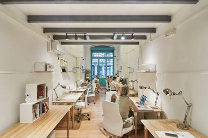 El espacio Coworking Felisa en Barcelona.