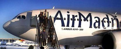 Un avión de la flota de Air Madrid