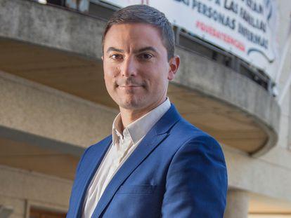 Juan Lobato, candidato a secretario general del PSOE de Madrid, en una imagen de archivo.