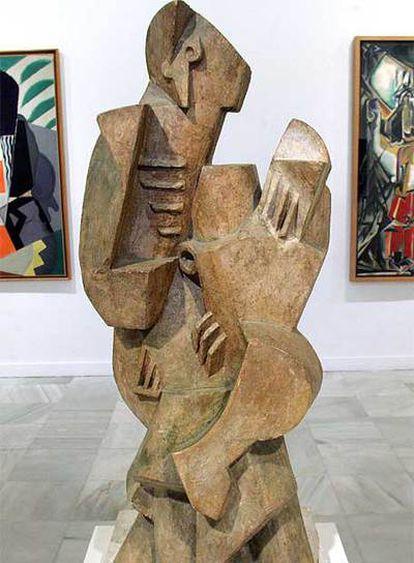 Escultura de la colección permanente del Museo Reina Sofía.