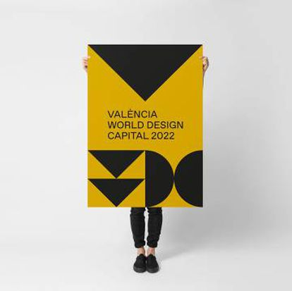 Cartel de la candidatura de Valencia de Ibán Ramón.