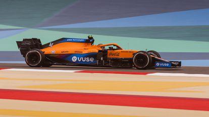 El nuevo acuerdo de patrocinio de la empresa con McLaren incluye la publicidad del cigarrillo electrónico Vuse.