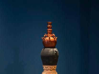Una de las cerámicas de Asunción Molinos Gordo.