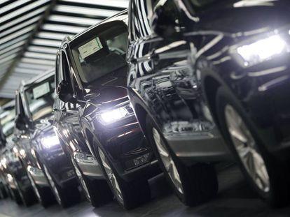 Fábrica de Volkswagen en Wolfsburgo, Alemania.