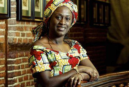Caddy Adzuba, fotografiada en 2010.