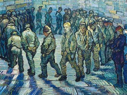 La ronda de los presos, de Vincent Van Gogh