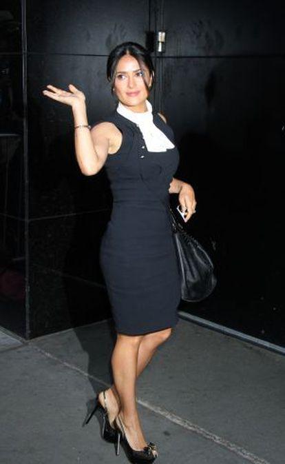 Salma Hayek, fotografiada en Nueva York, el pasado 27 de junio.