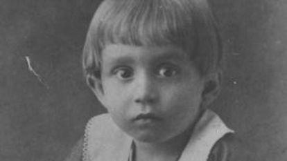 García Márquez, de niño.