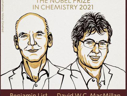 Premios Nobel de Química.