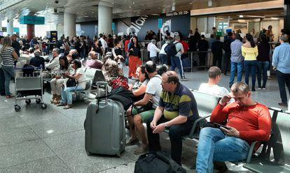Aeropuerto de Lisboa.