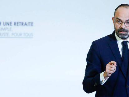 El primer ministro francés en su discurso en el Consejo Económico Social y Medioambiental